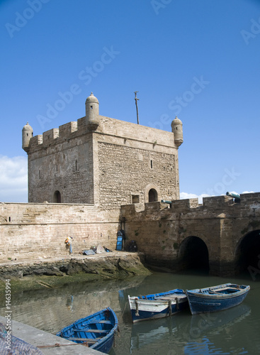 the skala du port citadel by the harbor essaouira morocco