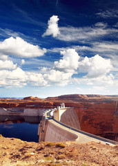 Glen Canyon Dam and Lake Powell