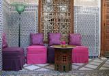 Fototapety Maroc : Salon oriental (mélange contemporain et ancien) #2