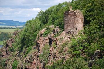 old ruin Sec castle