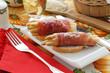 Involtini agli asparagi bianchi - Antipasti Emilia Romagna