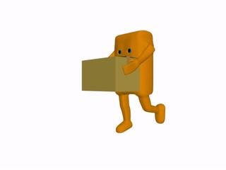 sponge delivery parcels