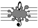 musical blot poster