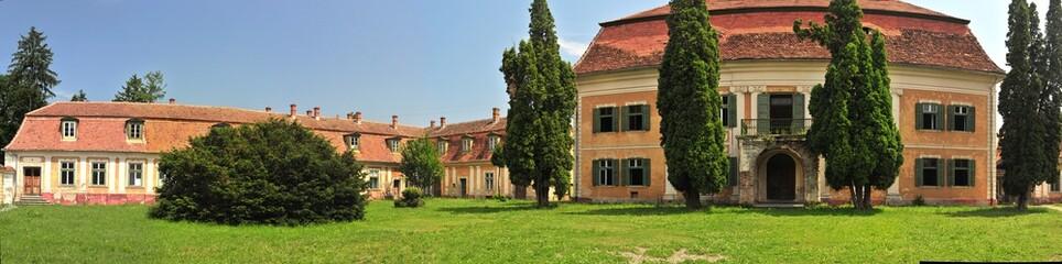 Sommerpalast des Samuel von Brukenthal in Avrig / Freck