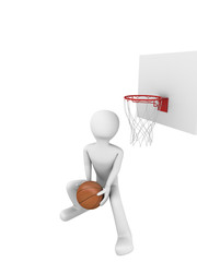 Basketball slamdunk 3