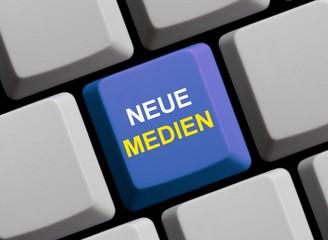 Neue Medien - Die Zukunft ist online