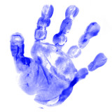 baby right handprint