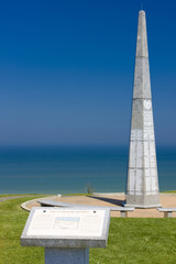monument, Omaha Beach, Normandy, France