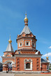 Old chapel in the city of Yaroslavl