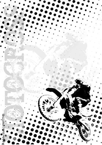 tlo-plakat-kropki-motocross