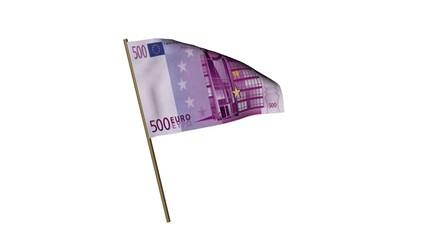 Fahne 100 Euro