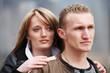 junges Paar zusammen