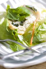 halibut fillet with mint