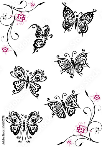 scott weakley floral filigranes tattoo. Black Bedroom Furniture Sets. Home Design Ideas