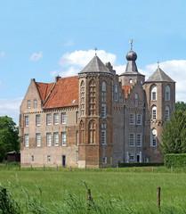 Croy castle in netherlands