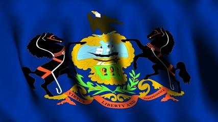 Pennsylvania (US) Flag