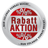 Rabatt Aktion Button