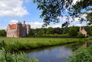 Croy castle in netherlands