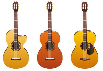Guitares sèches