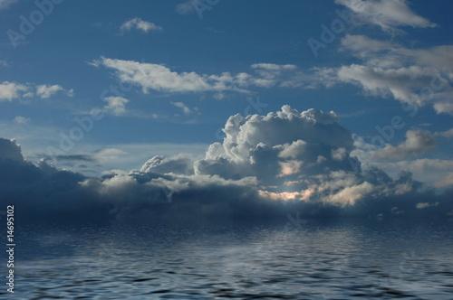 Fotobehang Thailand Gewitterwolken