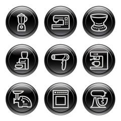 Black button for icon 19