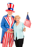 Uncle Sam and Friend poster