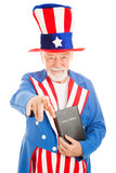 Uncle Sam - Church and State poster