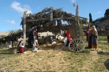 Presepio ad Assisi - Umbria