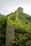 unrestored section of the great wall of china poster
