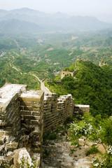 ripido crinale dalla grande muraglia