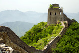 watchtower of the famous great wall of china poster