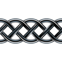 Seamless celtic design border or background