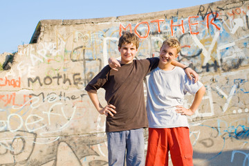 boys at the skatepark