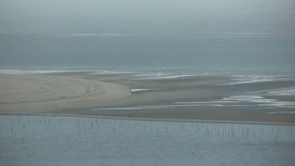 vue du banc d'Arguin depuis la dune du Pilat