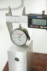 digital caliper and indicator