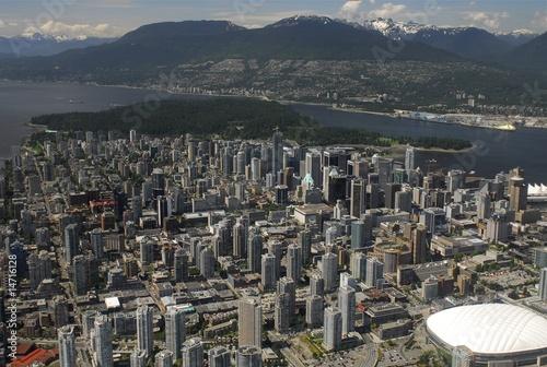 Vancouver, Canada - Aerial Photo