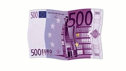 Fahne 500 Euro