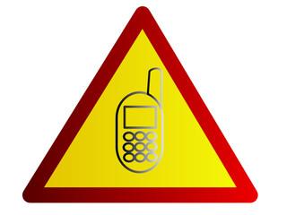 Danger, téléphone portable
