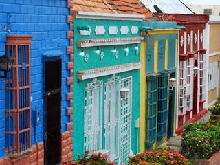 Casas marabinas, Santa Lucia, Venezuela