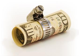 Dollar locked