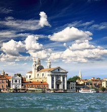 The scenery of Venice