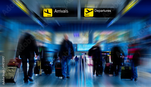 People at the Airport - 14731917