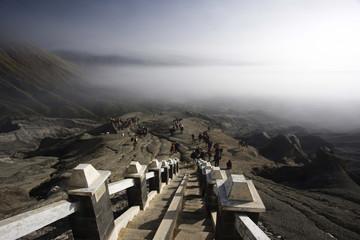 Mount Bromo stairs