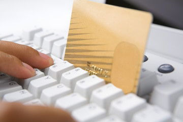 Using credit card for online transaction