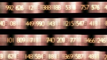 rote Zahlenanzeige