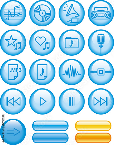 Vector Icon Set - Sound