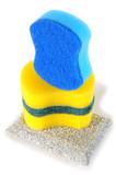 Dishwashing sponges. poster