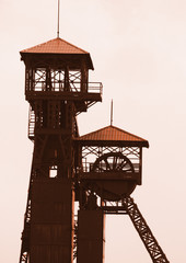 old mine tower