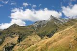 Mount Aspiring National Park in New Zealand poster