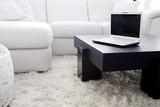 Modern livingroom computing poster